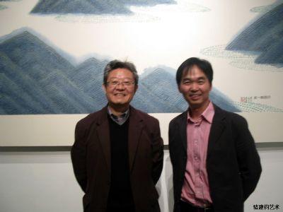 与导师姜宝林教授一起